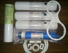 RO Filter Water Purifier COMPLETE SERVICE KIT + FLIMTEC MEMBRANE For 1 Year