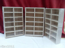 ONE WOODEN TRAY 12 Removeable sections beads HerbaPlanting Arts craft jewellery