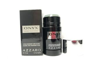 Onyx by Azzaro 2.7 oz/75 ml Deodorant Stick for Men, Alcohol Free, Hard to find!