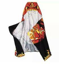 Skylanders Eruptor Kids Hooded Towel Red Yellow New