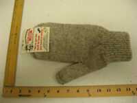 Work Mitten Cold Weather Grey Gray Outerwear One Size Fits Most Unisex NEW