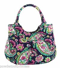 VERA BRADLEY GIRLS MINI TOTE Purse Bag Petal Paisley Rolled Handles NWT $48