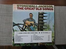 Stonewall Jackson - The Great Old Songs - stereo