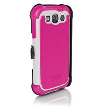 Ballistic Case for Samsung Galaxy SIII Hot Pink/White