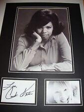 CANDI STATON PERSONALMENTE FIRMADO 12x16 - YOUNG corazones Run SIN - Motown