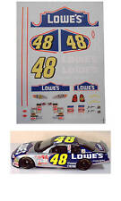 #48 Lowes 2003 1/64 scale decal AFX Tyco Lifelike Autoworld
