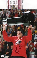 Milan Lucic Boston Bruins Signed 11x14 Photo JSA COA Autograph