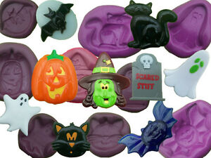 Halloween cake decoration mould mold cup cake topper icing