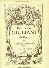 Giuliani - Six Duets for Violin & Violoncello  Volume 3