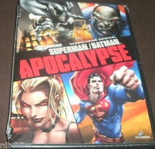 superman batman apocalypse  DVD NEUF dc universe DESSIN ANIME ORIGINAL