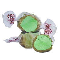 GOURMET CARAMEL APPLE Salt Water Taffy Candy TAFFY TOWN 1/4 LB  to 10 LB BAG