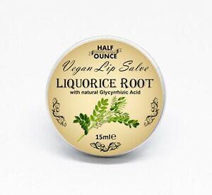 Liquorice Balm, Vegan Lip Balm containing Liquorice (Licorice) Root Extract