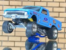 """Hot Wheels 61 Ford Ranchero Falcon CUSTOM GASSER-""""Ford Racing""""-Paint-RR-decals"""