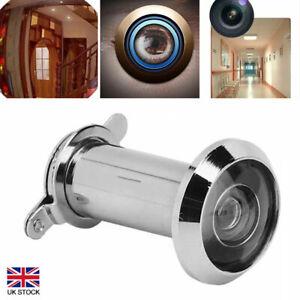 220°Adjustable Door Peephole Viewer Wide Angle Eye Spy Sight Hole Glass Lens New