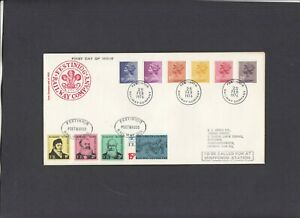 1976 9p-20p new values Festiniog Railway First Day Cover. 1 of only 8 covers