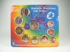 *** euro kms españa 2007 bu + 2 euros de los Tratados de Roma Spain Espana coin set ***