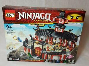LEGO NINJAGO 70670 Kloster des Spinjitzu  Neu OVP
