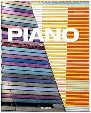 Fachbuch Renzo Piano, Complete Works 1966–2014, WERKVERZEICHNIS aktuelle Ausgabe