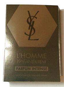 YSL L'HOMME PARFUM INTENSE 0.05 oz 1.5 ml EDP Spray Mini/Travel Sample Vial Mens