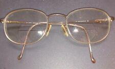 New listing Vintage Safilo Elasta 7027 9Hm Bronze Metal Oval Sunglasses Italy Frames