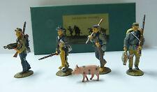 Frontline Figures, 4 estados sureños figuras, aci13, foraging set, escala 1/32