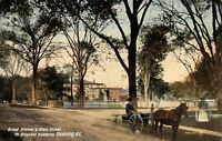 Ossining NY~Mt Pleasant Academy~Horse Buggy @ Broad Avenue & State Street~1908