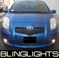 Xenon Halogen Fog Lamps lights for 2007-2010 Toyota Yaris 07 08 s
