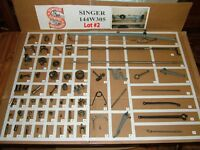 SINGER 144W305 Industrial Sewing Machine Parts - Restore Simanco - LOT #2
