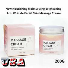 New listing Moisturizing&Bright ening Anti Aging Facial Skin Massage Body Massage Cream Us