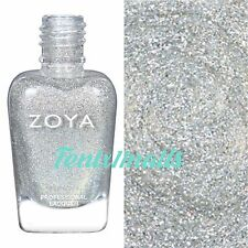 ZOYA ZP859 ALICIA silver metallic holo nail polish ~ URBAN GRUNGE Collection New