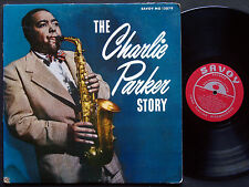 CHARLIE PARKER Story LP SAVOY MG 12079 US '56 RVG DG MONO Miles Davis Bud Powell