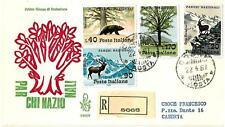 ITALIA REP. - 1967 - Parchi nazionali su FDC Venetia - (A)