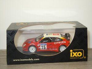 Citroen Xsara T4 WRC Winner Tour de Corse 2001 - Ixo RAM040 - 1:43 in Box *53499