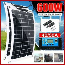 300W 600 Watt Portable Solar Panel 18V with Controller RV Car Battery Charger