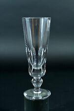 St Louis FLUTE CHAMPAGNE  Jersey 1 verre  H 16cm Cristal taillé Paquebot France