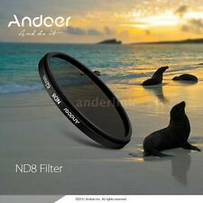 Andoer 72mm UV+CPL+ND8 Circular Polarizer Filter Kit Neutral Density f DSLR U9N1