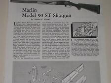 MARLIN MODEL 90ST SHOTGUN EXPLODED VIEW