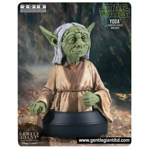 Gentle Giant Star Wars bust - 1/6 Yoda Concept Series SDCC 2018 Exclusive New!