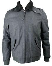 Eleven Paris Men's POLAF Bomber Jacket Dark Grey (EPJK022)