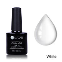 7.5ml Soak Off UV Gel Nail Polish Opal Jelly Blossom Gel Varnish  White