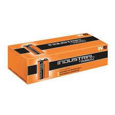 10 x 9V DURACELL INDUSTRIAL MN1604 E-BLOCK BATTERIE ALCALINE PER ELETTRONICO