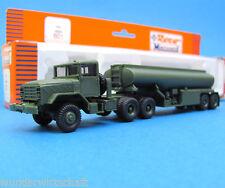 Roco Minitanks H0 601 M931 M969 A1 Tank-Sattelzug US Army HO 1:87 OVP