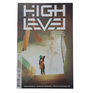 High Level #1 Cover A Guillaume Ospital Cover 2019