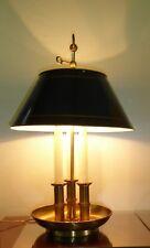 """ANTIQUE BOUILLOTTE LAMP SIGNED MAISON CHARLES """"MALMAISON""""  ERA JANSEN BAGUES"""