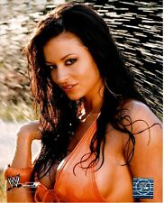 Candice Michelle Licensed WWE WWF Wrestling Unsigned Glossy 8x10 Photo A