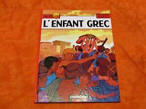 Bd alix , L'enfant Grec de 1980
