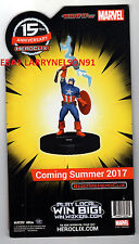 MARVEL HEROCLIX STANDEE TABLE TOPPER CAPTAIN AMERICA WHAT IF DEALER EXCLUSIVE