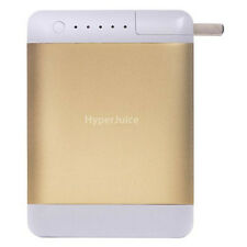 HyperJuice Plug Dual USB External Battery/Charger for iPhone, iPad 12,000mAh