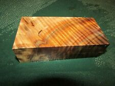 WB-CURLY!!!  WALNUT BURL DELUXE  KNIFE BLOCK/SCALES/ CALLS/ PEN BLANKS--W--E