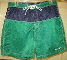 Vintage Tommy Hilfiger 100% polyester surf/board shorts w/ back pocket men's XL